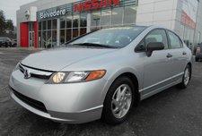 Honda Civic Sdn LX AUTOMATIQUE MAGS AIR CLIMATISÉ CRUISE CONTROL 2008