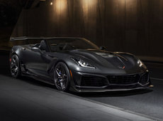 The incredible Chevrolet Corvette ZR1 is born in Los Angeles