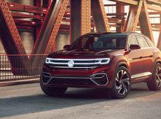 The Volkswagen Atlas Cross Coupe is confirmed