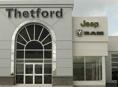 Thetford Chrysler, votre concessionnaire Jeep Dodge Ram de confiance!