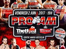 Thetford Chrysler présente le Gala de boxe Pro Am