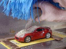 A miniature Nissan car wash with big implications