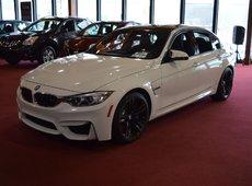 BMW M3 MANUELLE NAVIGATION 3.0L TURBO 425HP 2015