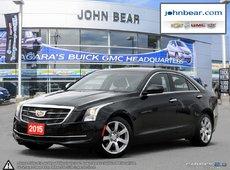 2015 Cadillac ATS Luxury RWD POWER SLIDING SUNROOF, BLUETOOTH