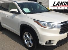 2015 Toyota Highlander LIMITED AWD 3rd ROW SEATING REMOTE START