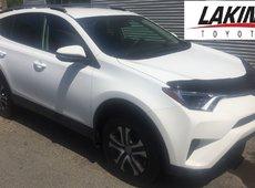 2017 Toyota RAV4 LE FWD, ONLY 9416 KLMS!!