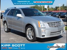 "2008 Cadillac SRX Sport, Leather, 20"" Wheels, Sunroof, Clean"