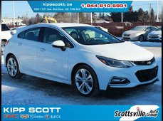 2017 Chevrolet Cruze Premier Hatchback, Heated Leather, Sporty