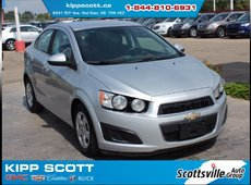 2012 Chevrolet Sonic LT Sedan, Cloth, Cruise, A/C, Bluetooth