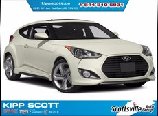 2014 Hyundai Veloster Turbo 6-Speed, Leather, Sunroof, Nav, Fun!