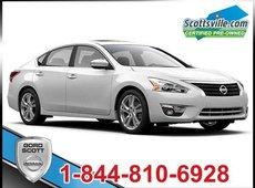 2014 Nissan Altima 2.5 SL Tech Pkg, Leather, Nav, Driver Alerts