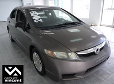 Honda Civic DX **VITRES TEINTÉES** 2009