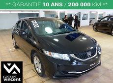 Honda Civic LX ** SIEGES CHAUFFANTS ** 2013