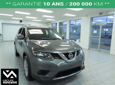 Nissan Rogue S **FAIBLE KILO+CAMÉRA RECUL** 2014