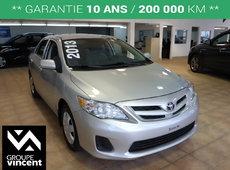 Toyota Corolla **SIÈGES CHAUFFANTS** 2013