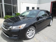 Honda Accord Touring-V6-Navy-Cuir-Bluetooth 2014