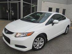Honda Civic Cpe LX-Garantie gratuite de 10 ans ou 200.000km 2012
