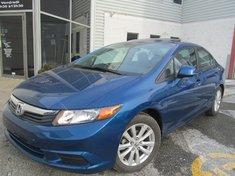 Honda Civic Sdn EX-Garantie gratuite de 10 ans ou 200.000km 2012