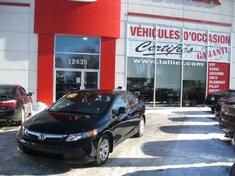 2012 Honda Civic LX INCLUS PNEUS HIVER /ÉTÉ