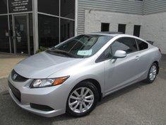 Honda Civic EX-Technologie Econ-Garantie Prolongée Gratuite 2012