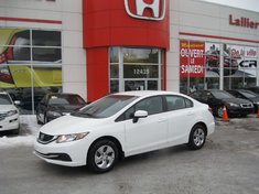 2014 Honda Civic LX 8 PNEUS INCLUS