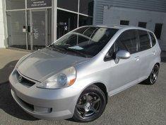 Honda Fit LX-Garantie gratuite de 10 ans ou 200.000km 2007
