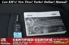 2016 Chevrolet Cruze L - Low KM's!