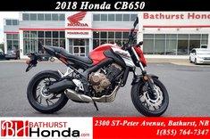 2018 Honda CB650