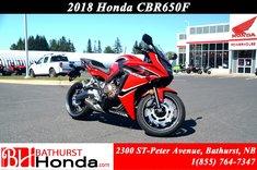 Honda CBR650  2018
