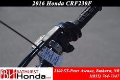2016 Honda CRF230