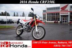 2016 Honda CRF250L