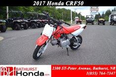 Honda CRF50  2017