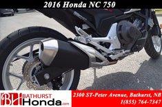 2016 Honda NC750 XDG automatic transmission