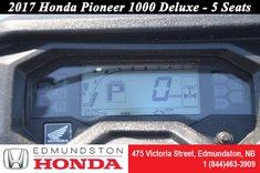 2017 Honda Pioneer 1000 5 Seats