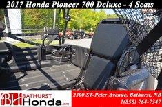 2017 Honda Pioneer 700 Deluxe - 4 Seats