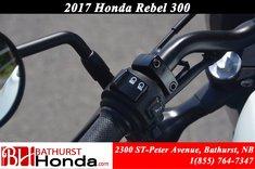 2017 Honda Rebel 300 - ABS