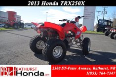 Honda TRX250 X 2013