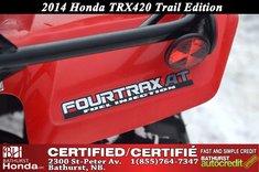 2014 Honda TRX420 Trail Edition!