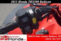 2013 Honda TRX500 Rubicon