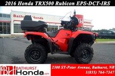 2016 Honda TRX500 Rubicon EPS - IRS - DCT