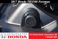 2017 Honda TRX500 Foreman