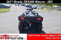 2017 Honda TRX680 Rincon IRS