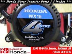 2016 Honda WX15CX