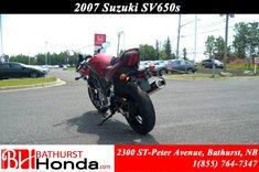 2007 Suzuki SV650S