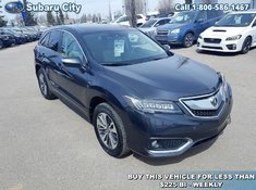 2016 Acura RDX Elite,AWD,LEATHER,SUNROOF,NAVIGATION,AIR,TILT,CRUISE,PW,PL,LOCAL SUV,CLEAN CAPROOF!!!!!