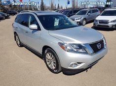 2014 Nissan Pathfinder SL,4X4,LEATHER,SUNROOF,REAR SEATING,AIR,TILT,CRUISE,PW,PL,LOCAL TRADE,VERY CLEAN!!!!