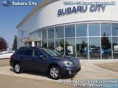 2015 Subaru Outback 2.5i  Manual Transmission