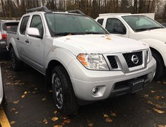 2018 Nissan Frontier Crew Cab PRO-4X 4x4 at