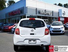 2017 Nissan Micra 1.6 S 5sp