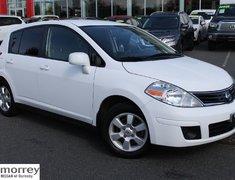 2010 Nissan Versa SL CVT AUTO LOW KMS GREAT ON GAS